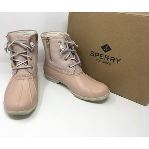 NEW Sperry Top-Sider Saltwater Duck Boots, Sz 9.5M